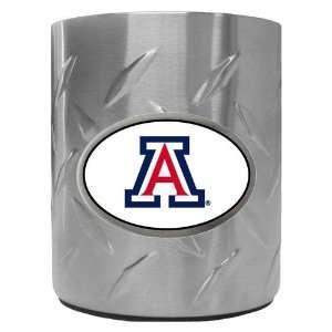 Arizona Wildcats NCAA Team Logo Diamond Plate Beverage Can