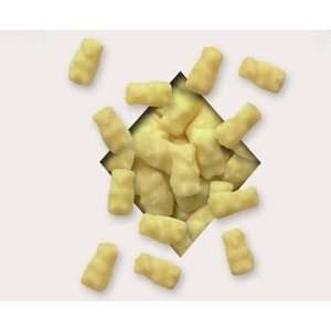 Koppers Chocolate, White Chocolate Gummi Bears, 8 Pound Bag: