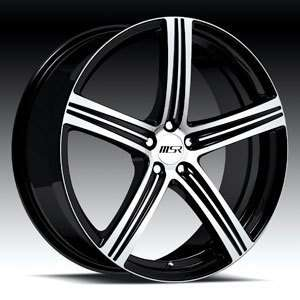 MSR Wheels, style 052, 20 x 7.5, 5 x 105mm CHEVY CRUZE