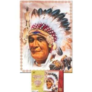 Wild Republic Puzzle Native American 500 Pieces Toys
