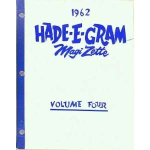 Hade E Gram Magi Zette (Volume Four): Books