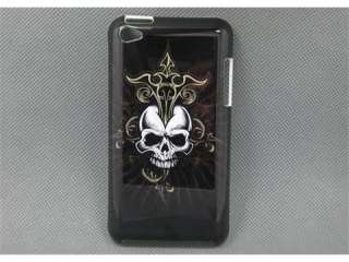 Black botton Guru head hard cover Case for iPOD TOUCH 4