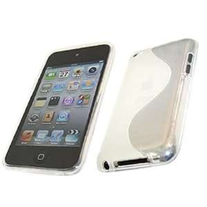 WHITE WAVE Part Silicone Gel Crystal/Hybrid Hard Case Cover