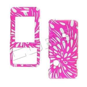 GLITTER PINK RAIN snap on hard case cover for LG Chocolate