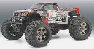 HPI Savage X 4.6 Monster Truck 1/8 Scale Nitro RTR part # HPI105644
