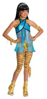 Monster High Cleo De Nile Costume Child Small 4 6 *New*