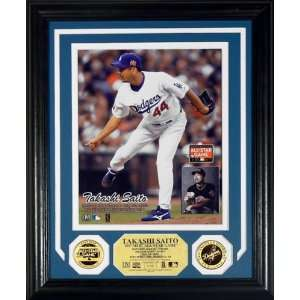 Takashi Saito Los Angeles Dodgers   All Star   Photo Mint