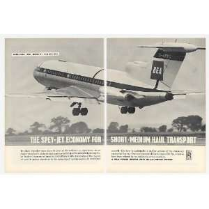 1964 BEA Hawker Siddeley Trident Rolls Royce Spey Engine 2