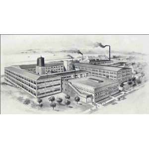 Reprint E. R. Thomas Motor Co. View of the factory in Buffalo, N.Y., U