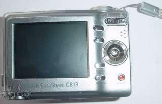 Kodak EasyShare C813 Digital Camera, 8.2MP 3x, ISO 1250