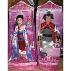 12 Princess Couple Dolls   Mulan & Li Shang: Everything Else