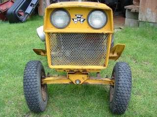 Vintage Massey Ferguson MF 7E Executive Lawn Garden Tractor Mower