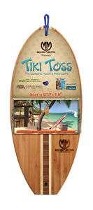 Tiki Toss Hook & Ring Game