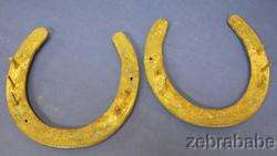 Cutter Bill Horseshoes World Champion Cutting Horse RARE One of a