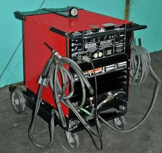 LINCOLN WELDER IDEALARC TIG 250/250 AC/DC ARC WELDER / SINGLE PHASE