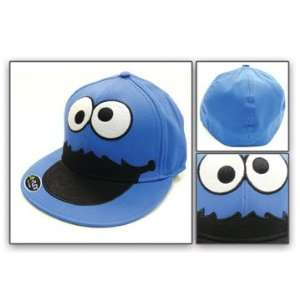 Baseball Cap   Sesame Street   Cookie Monster Happy Face Toys & Games