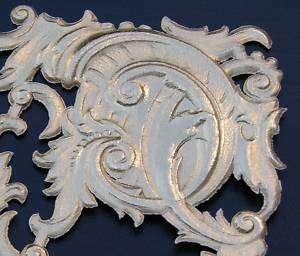 Gold Foil Paper 2 FILIGREE CORNERS Victorian Scrap Art Die Cut Dresden