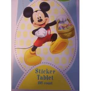 com Disney Mickey Mouse Easter Sticker Tablet ~ 136 Stickers (Mickey