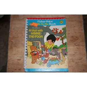 Talk to Me Book #22 A Visit with Winnie the Pooh fisher price Books