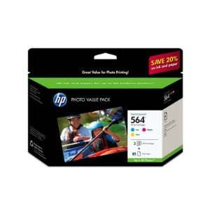 Hewlett Packard 564 Series 3 Ink Photo Value Pack Cyan