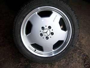 18 OEM Mercedes S 500 AMG wheels tires