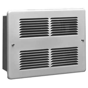 King WHF1210 1000 Watt 120 Volt Wall Heater, White