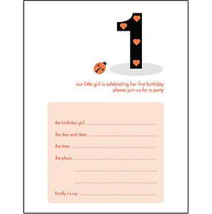 Birthday Party Invitation Wording Tags 1 Year Old