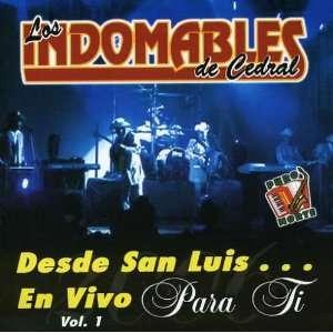 Desde San Luis En Vivo (0764928733722) Indomables De Cedral Books