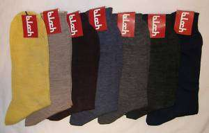 100% COTTON MENS CASUAL SOCKS ITALIAN MADE *Lot of 15*