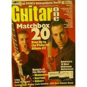 Guitar One Magazine, March 2000 Issue (Matchbox 20 Cover) (Vol 3 No 3)