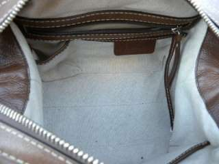MICHAEL KORS FRONT BUCKLES LUGGAGE LEATHER SATCHEL BAG