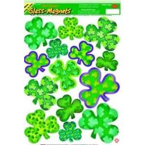 St Patricks Day Irish Mood Shamrock Window Clings Toys