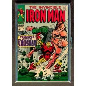 IRON MAN #6 1968 COMIC BOOK ID CIGARETTE CASE WALLET
