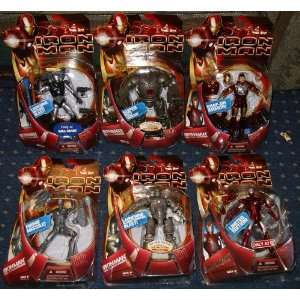 MARVEL IRON MAN 6 FIGURE PACKAGE MOC Toys & Games