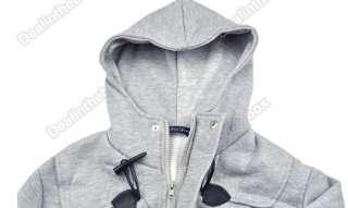 Men Cotton buckle coat/jacket/ for jeans 17 Cap Designed Hoody M L XL
