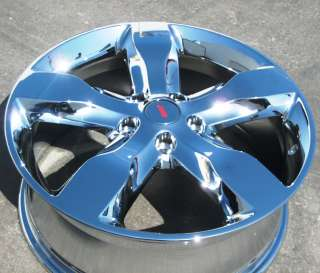 FACTORY JEEP GRAND CHEROKEE OEM CHROME WHEEL RIM 2011   1 SINGLE RIM