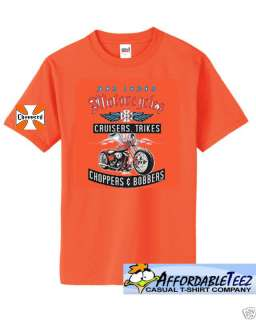 NEW LOS LOBOS CHOPPERS SS Biker T Shirt