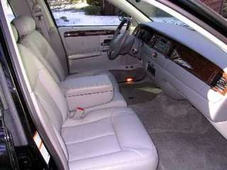 1994 1998 Lincoln Town Car Genuine Leather Interior Upgrade