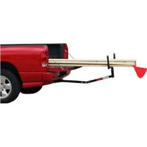 Steel Pickup Hitch Rack Truck Bed Extender for Long Loads Lumber Canoe