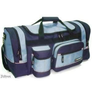 Sport Duffel Duffle Travel Tote Bag Luggage Blue