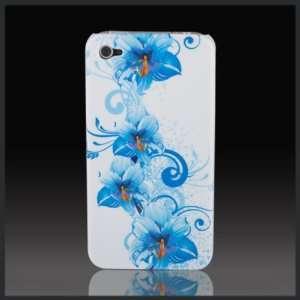 Blue Hawaii Flower Bouquet Designd hard case cover for