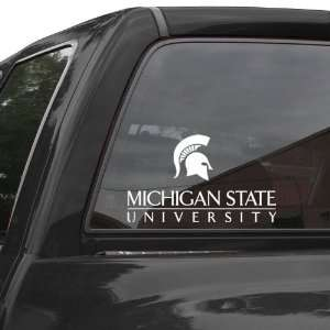 Michigan State Spartans 4 x 17 Die Cut Decal Strip