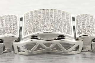 look no further make a statement with this 14k white gold plated