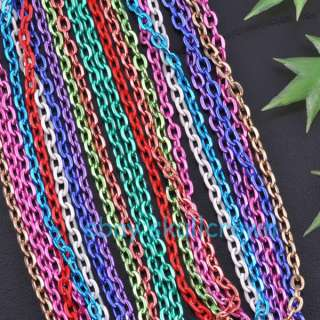 FREE SHIP 20strings Mix color Nice Chains LCH1380