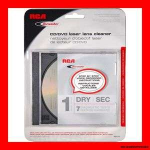 RCA Best DVD CD Wii XBOX PS3 Laser Lens Cleaner