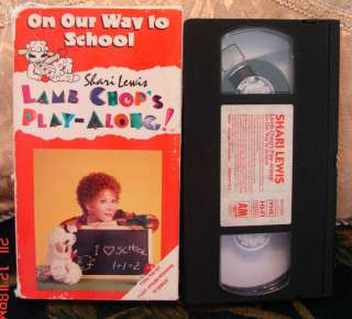 Shari Lewis On Our Way to School Lamb Chops Vhs Rare 044008957539