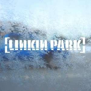 Linkin Park White Decal Rock Band Car Window Laptop White