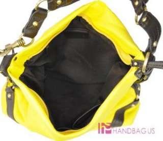 Designer Inspired Medium Yellow Handbag Purse Hobo Bag