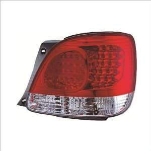 IPCW Red Led Tail Lights (1 Pair) 98 05 Lexus GS300 Automotive