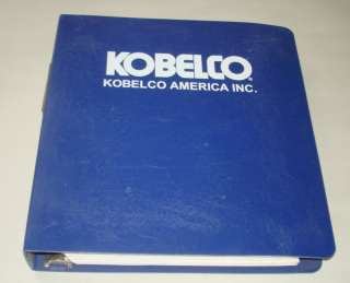 KOBELCO HYDRAULIC EXCAVATOR SK250LC 6E PARTS MANUAL